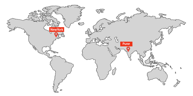 Worldwide Locations of TMR
