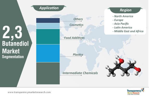 2,3 butanediol market segmentation