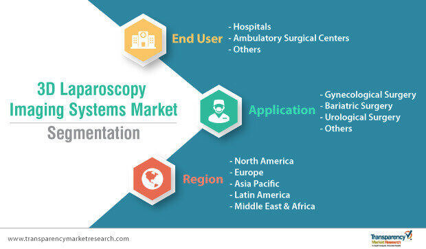 3d laparoscopy imaging systems market segmentation