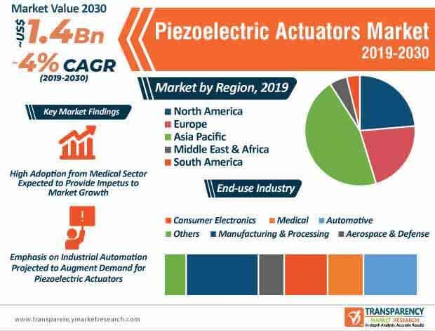 Piezoelectric Actuators Market Infographic