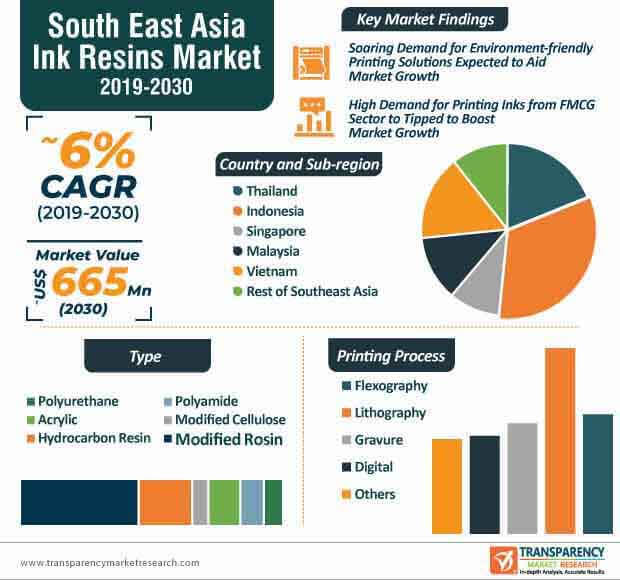 South East Asia Ink Resins Market Infographic