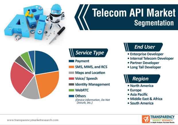 Telecom API Market Segmentation