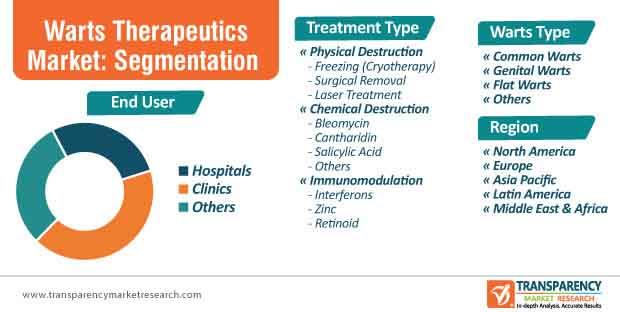 Warts Therapeutics Market Segmentation