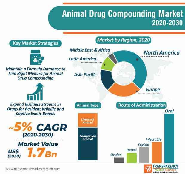 animal drug compounding market infographic