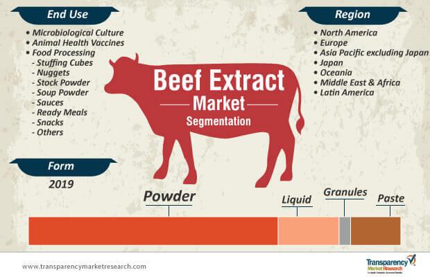 beef extract market segmentation