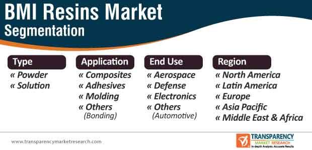 bmi resins market segmentation