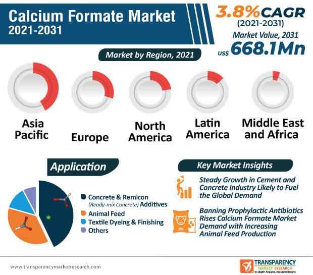 calcium formate market infographic
