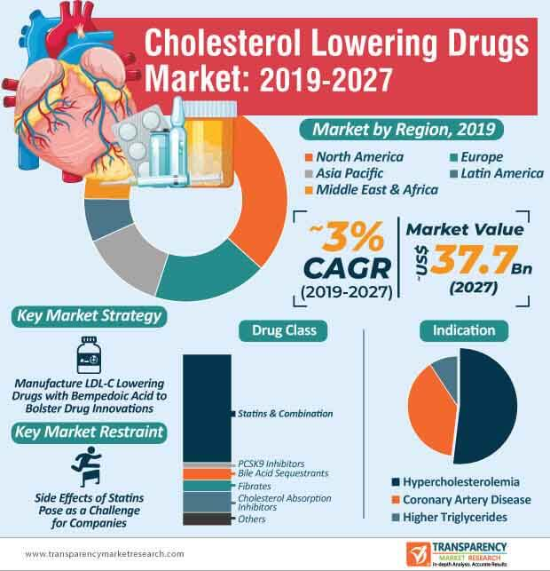 Cholesterol Lowering Drugs  Market Insights, Trends & Growth Outlook