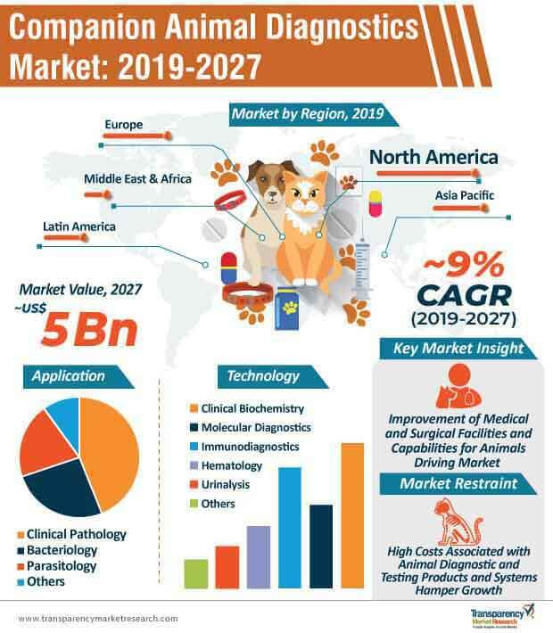 companion animal diagnostics market infographic