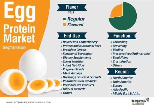 egg protein market segmentation
