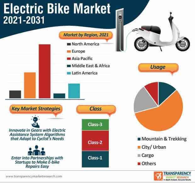 electric bike market infographic