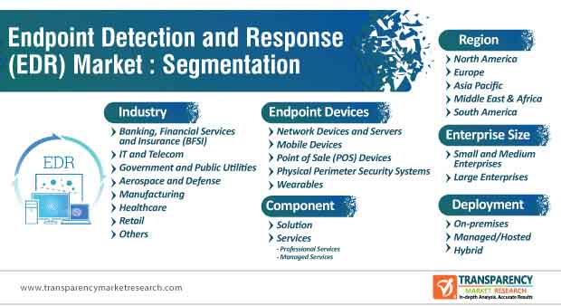 endpoint detection and response (edr) market segmentation