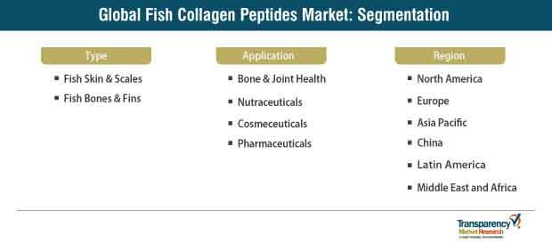 fish collagen peptides market segmentation