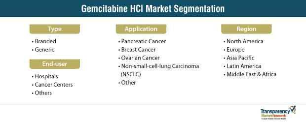 gemcitabine hci market segmentation
