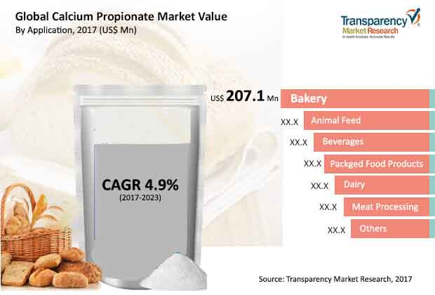 global calcium propionate market