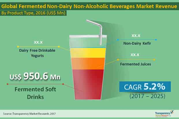 global fermented non dairy non alcoholic beverages
