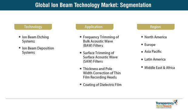 global ion beam technology market segmentation