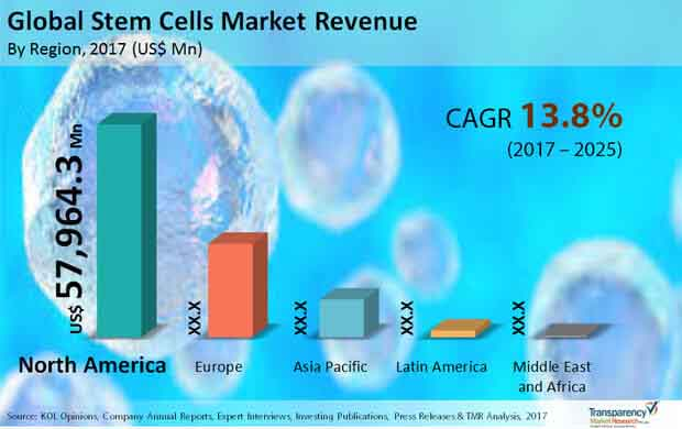 global stem cell market revenue
