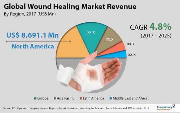 global wound healing market