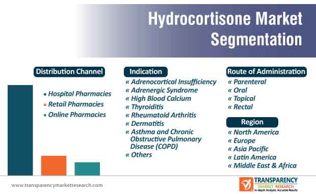 hydrocortisone market segmentation