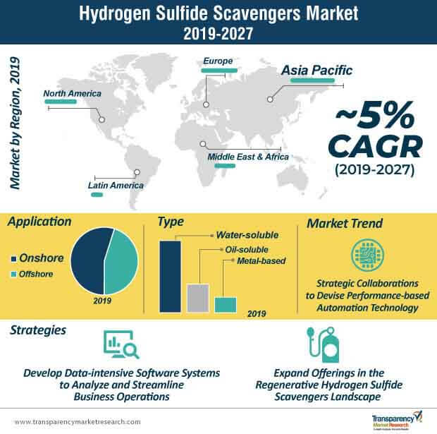 hydrogen sulfide scavengers market infographic