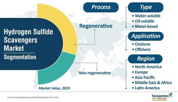 hydrogen sulfide scavengers market segments