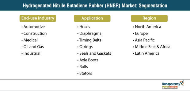 Hydrogenated Nitrile Butadie Market Segmentation