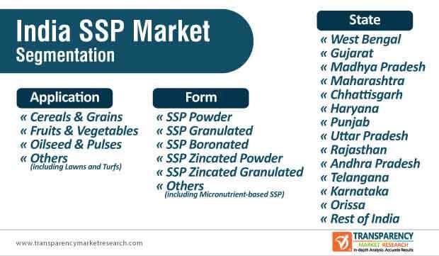 india ssp market segmentation