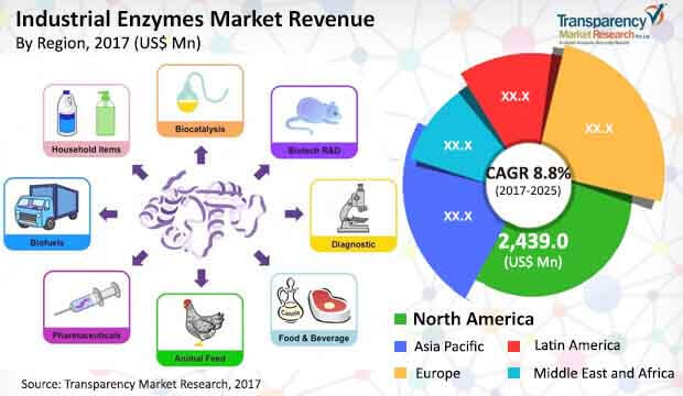 industrial enzymes market