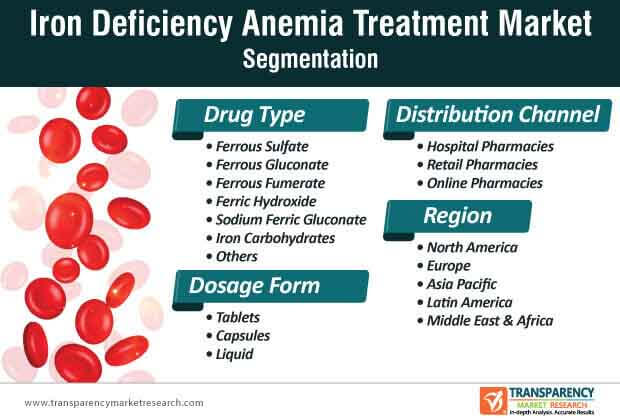 iron deficiency anemia treatment market segmentation