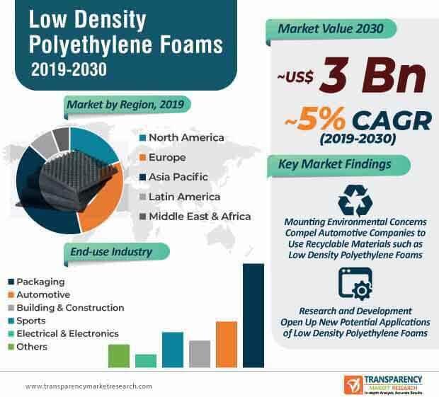 low density polyethylene market infographic