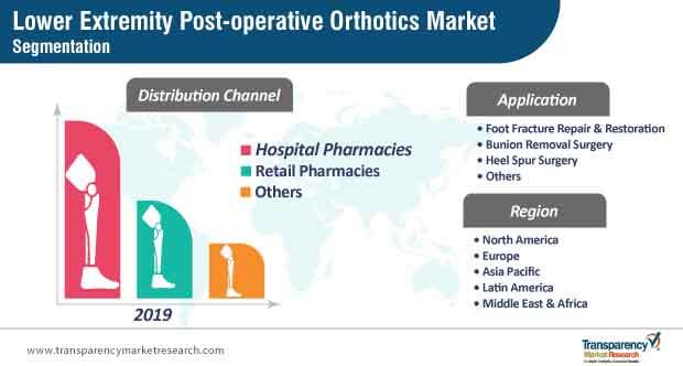 lower extremity post operative orthotics market segmentation