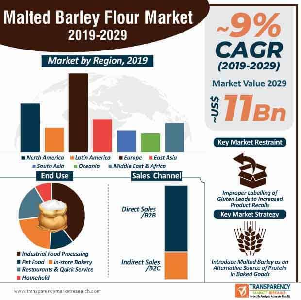 Malted Barley Flour  Market Insights, Trends & Growth Outlook