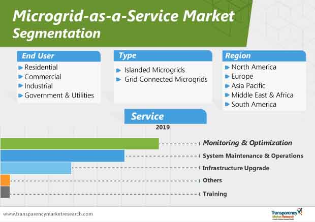microgrid as a service market segmentation