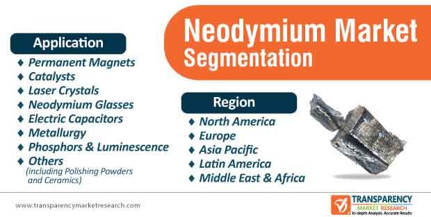 neodymium market segmentation