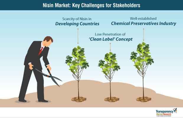 nisin market key challenges