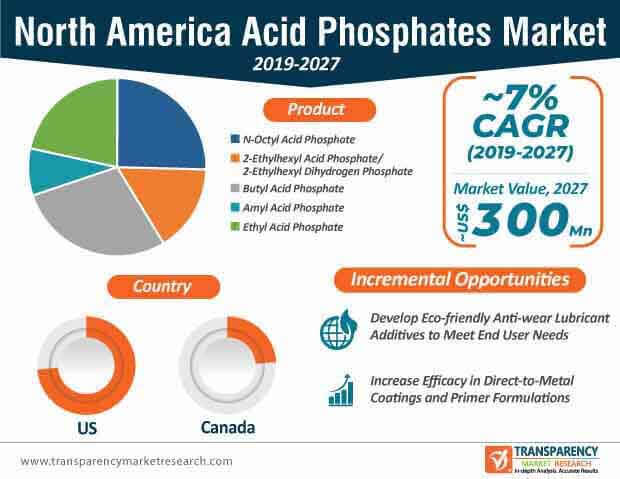 north america acid phosphates market infographic