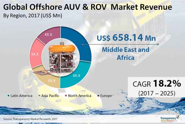 offshore auv rov market