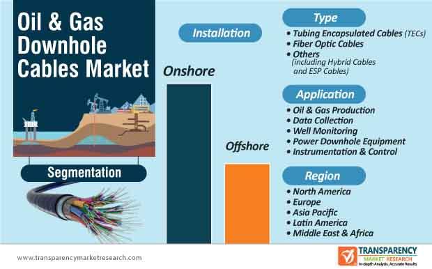 oil & gas downhole cables market segmentation