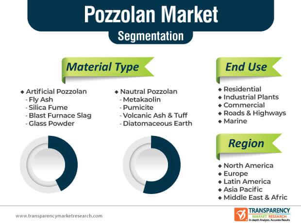 pozzolan market segmentation