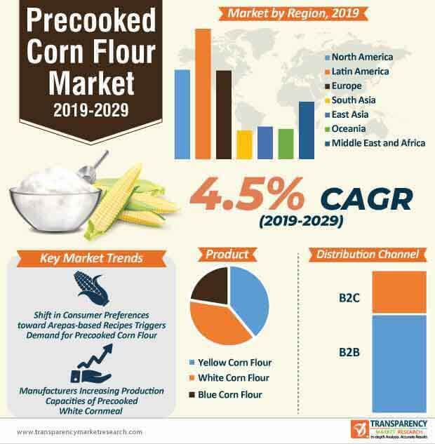 Precooked Corn Flour  Market Insights, Trends & Growth Outlook