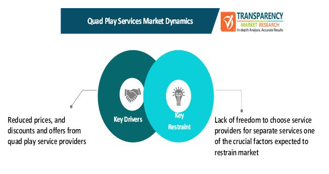 quad play services market