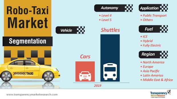 robo taxi market segmentation