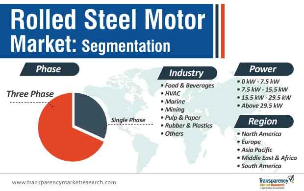 rolled steel motor market segmentation