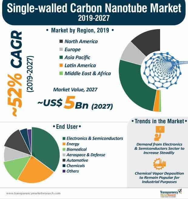 single walled carbon nanotube market infographics