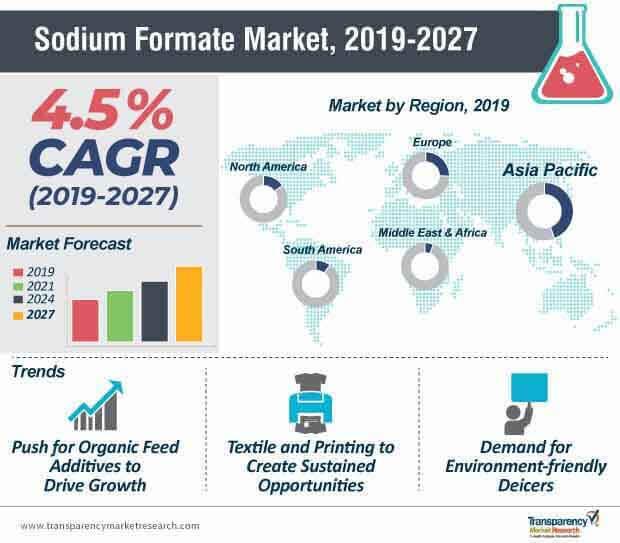 sodium formate market infographic