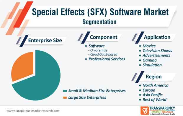 special effects software market segmentation
