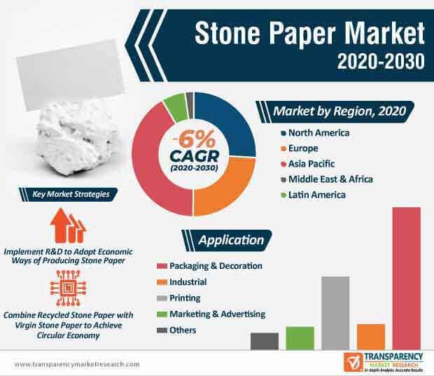 stone paper market infographic