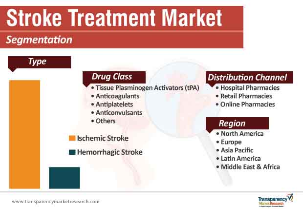 stroke treatment market segmentation