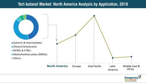 tert butanol market north america